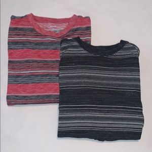 Two Urban Pipeline Awesomely soft Striped tees